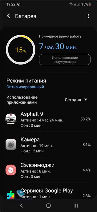 Обзор смартфона Samsung Galaxy A30S