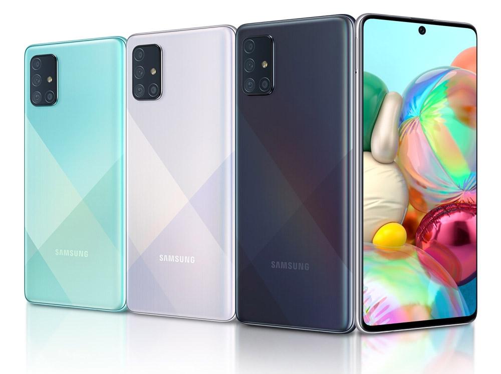 Обзор смартфона Samsung A71