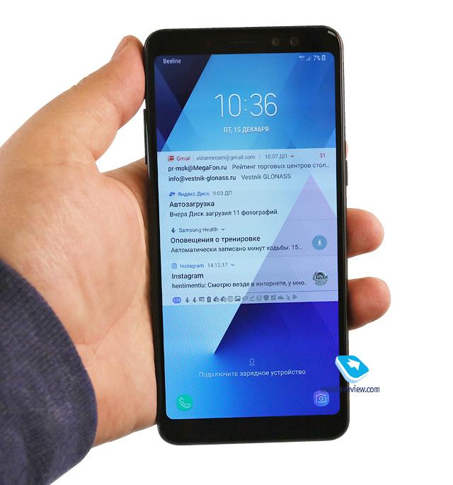 Обзор повседневных флагманов - Samsung Galaxy A8/A8+ (SM-A530F/SM-A730F)