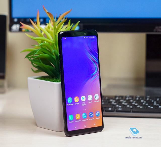 Первый взгляд на Samsung Galaxy A9 2018
