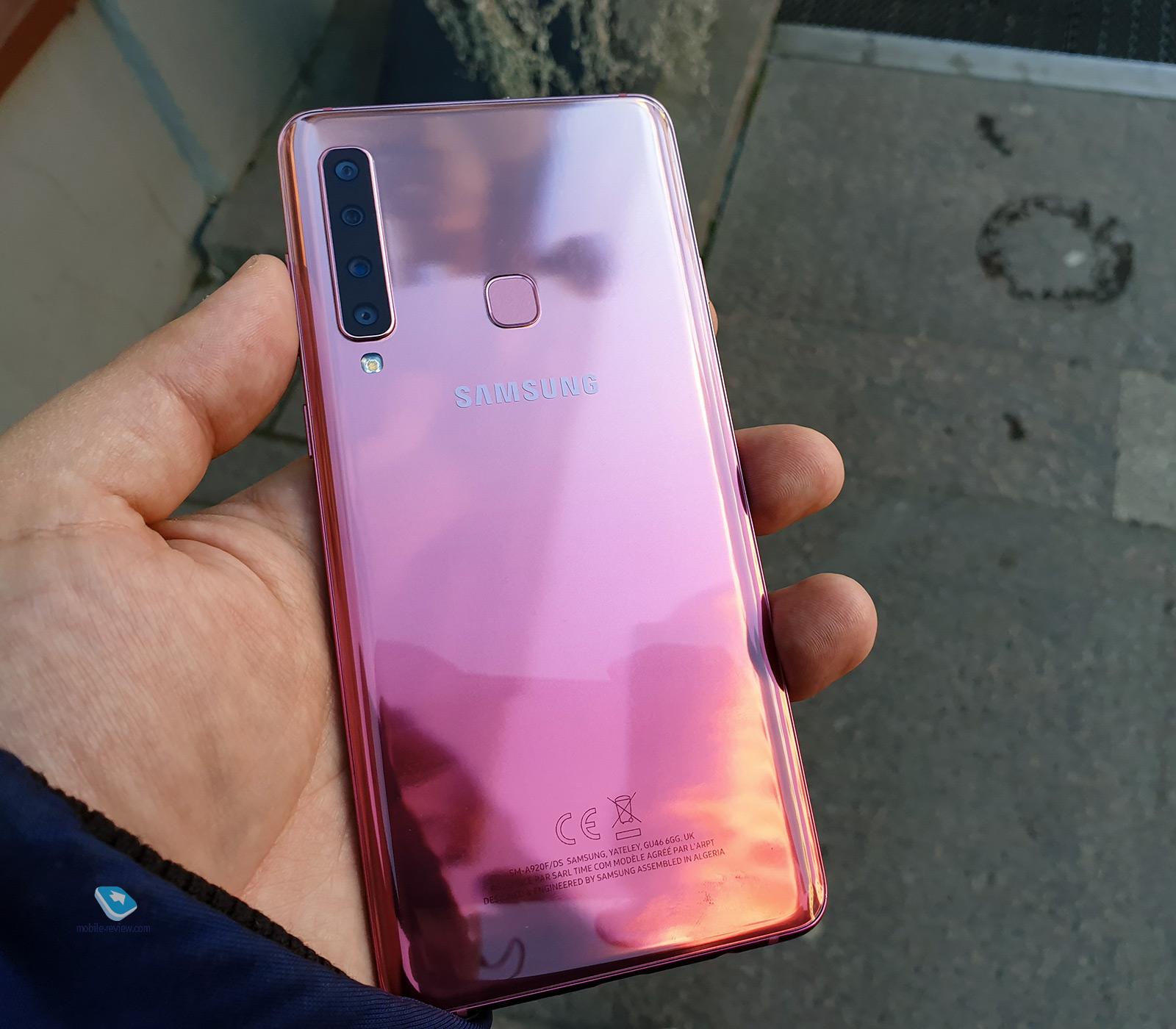 Обзор смартфона Samsung Galaxy A9 2018 (SM-A750)