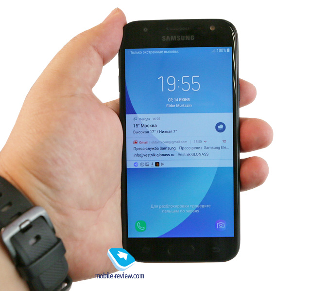 Обзор смартфона Samsung Galaxy J3 2017 (SM-J330)