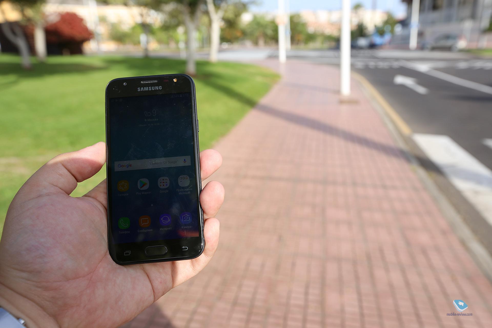 de14e491efe8 Mobile-review.com Обзор смартфона Samsung Galaxy J3 2017 (SM-J330)