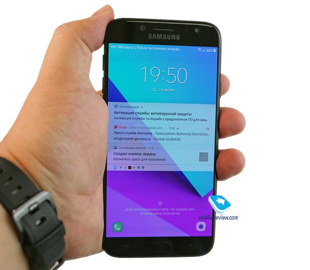Обзор смартфона Samsung Galaxy J7 2017 (SM-J730)