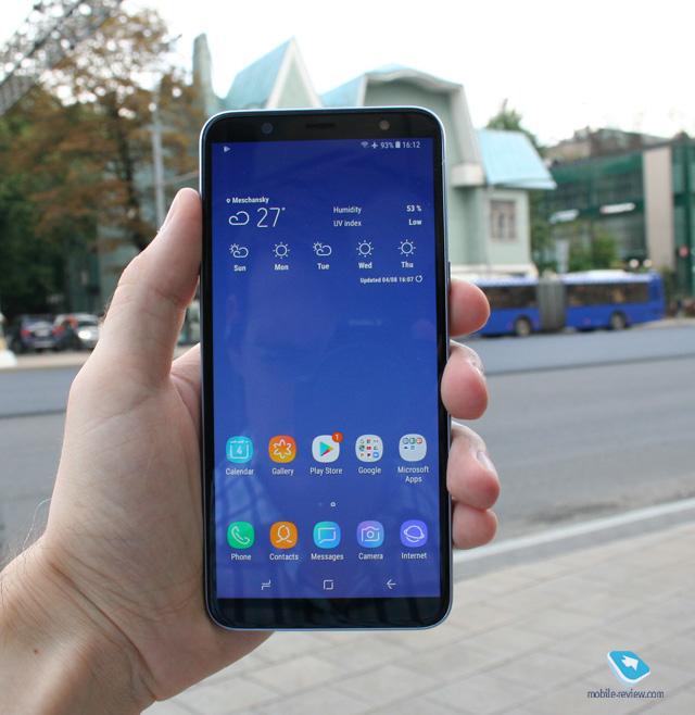 Обзор Samsung Galaxy J8 (2018)