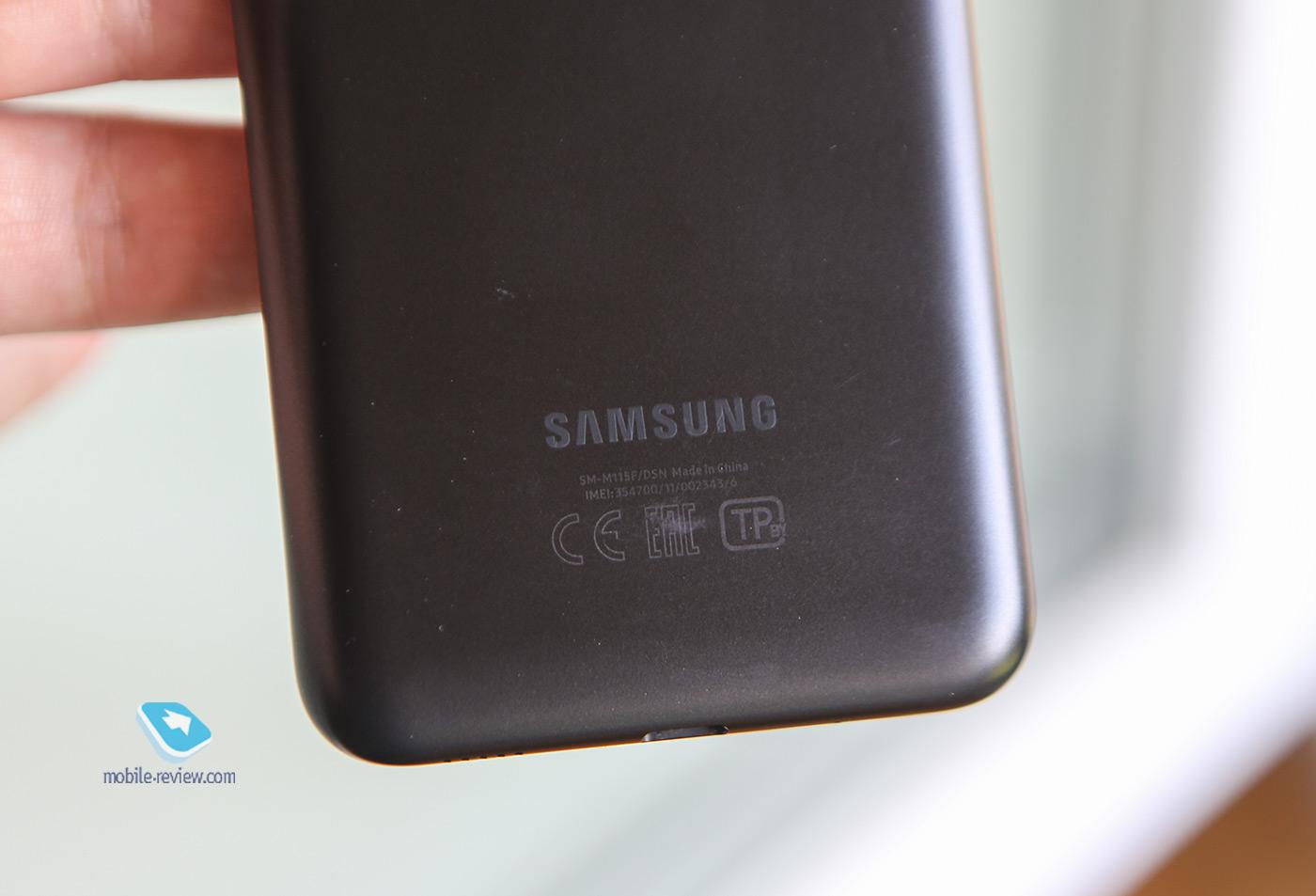 Обзор смартфона Samsung Galaxy M11 (SM-M115F/DSN)