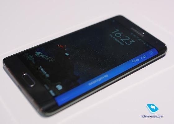 Mobile-review com Первый взгляд на Galaxy Note Edge