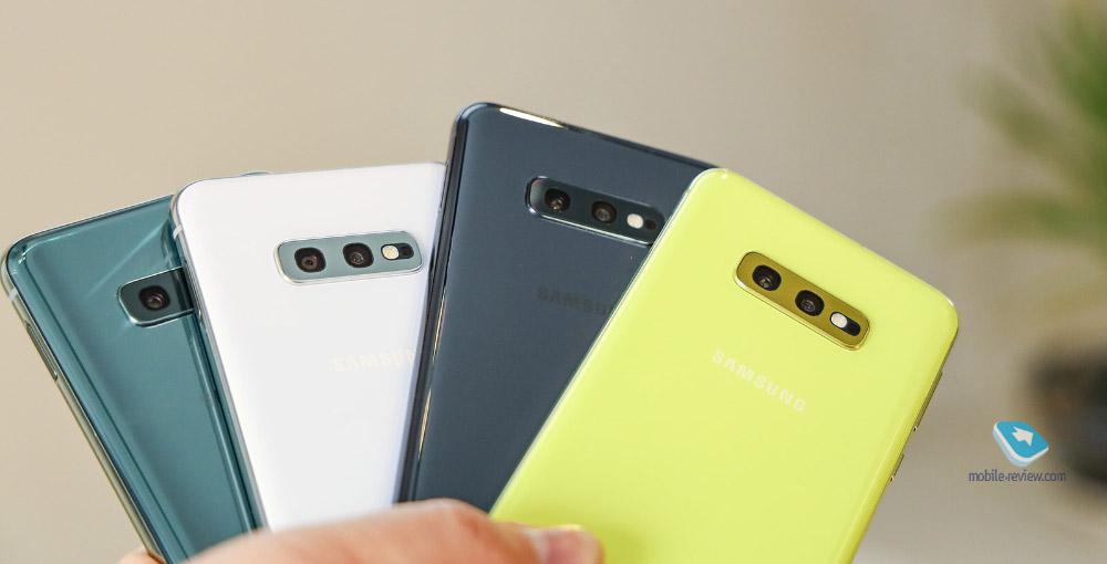 Первый взгляд на Samsung Galaxy S10e
