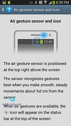 Samsung Galaxy S4. Интерфейс смартфона