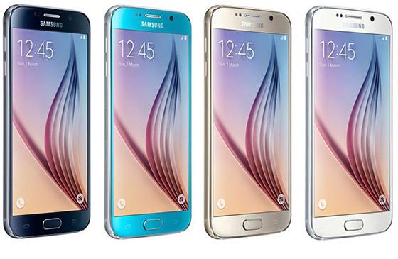 4 цвета смартфона S6