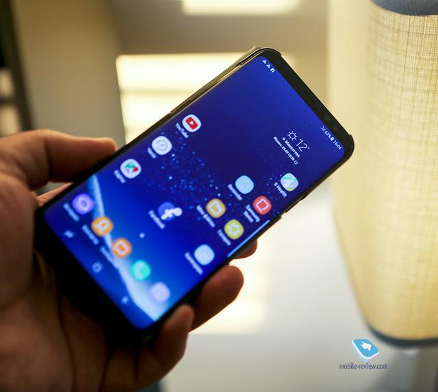 Первый взгляд на Samsung Galaxy S8/S8+ (SM0G950/G955)
