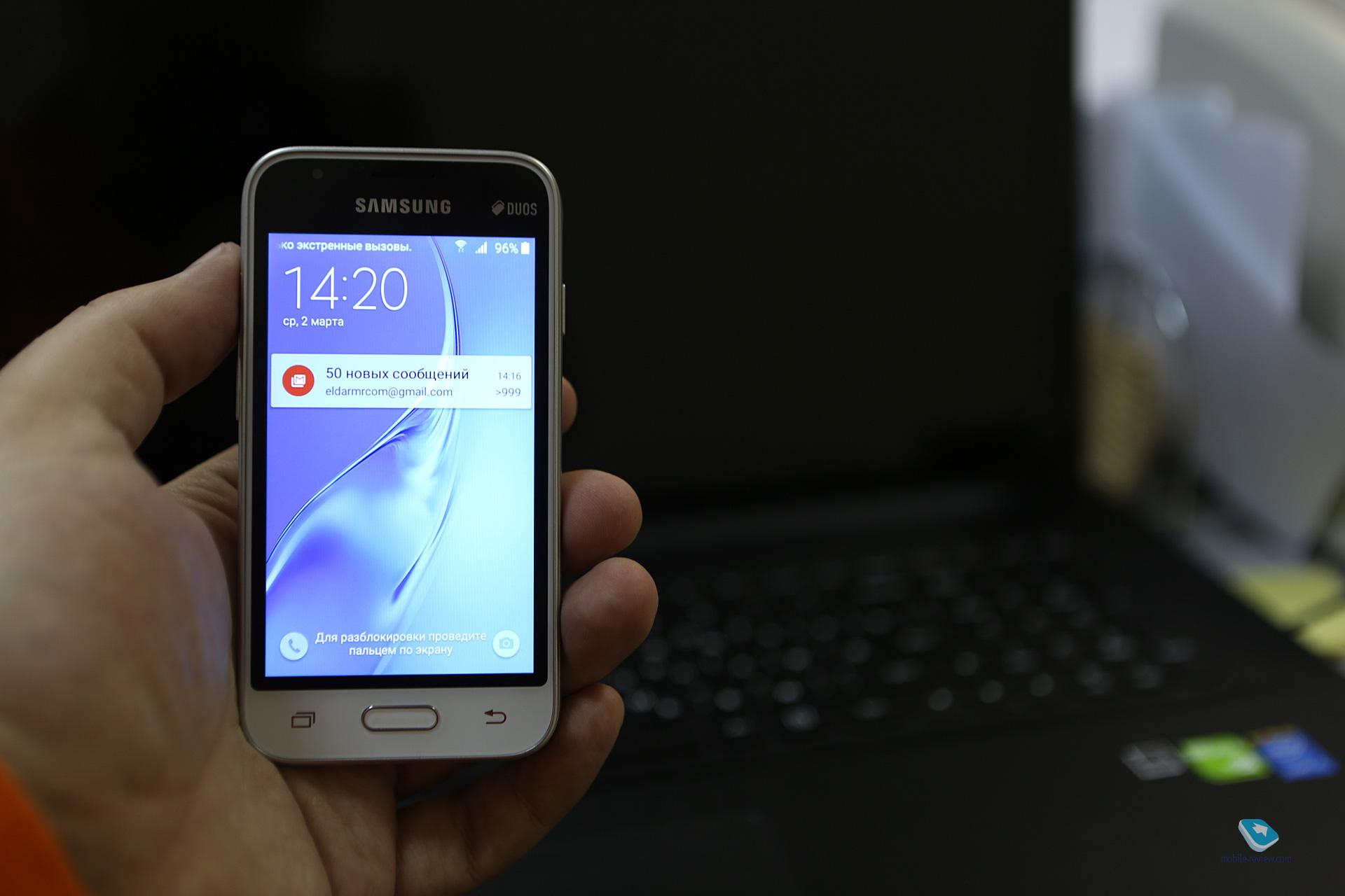 e1d243e7f0184 Mobile-review.com Обзор смартфона Samsung J1 Mini 2016 года (SM-J105H)
