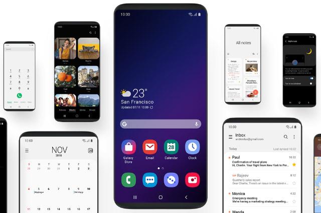 Обзор оболочки Samsung OneUI