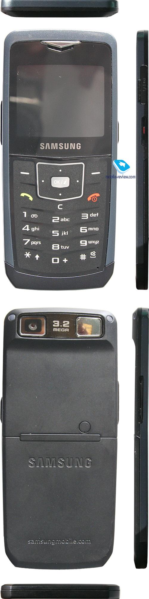 Mobile-review.com Обзор GSM-телефона Samsung U100