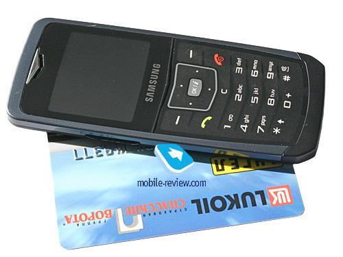 Обзор GSM-телефона Samsung SGH-U100 (ч.1)