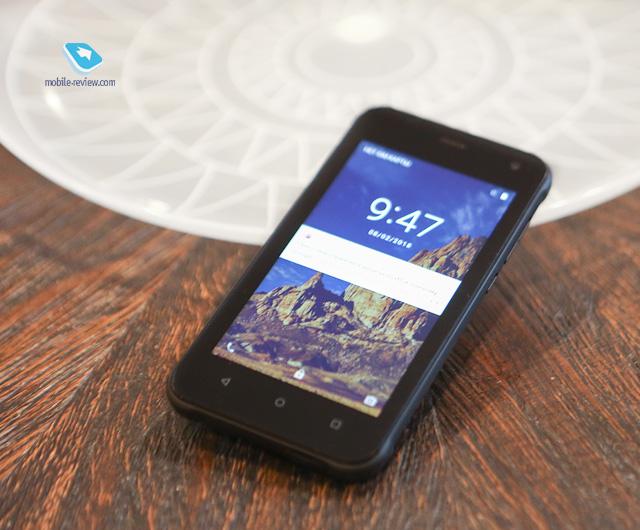 Обзор защищенного смартфона Senseit R500
