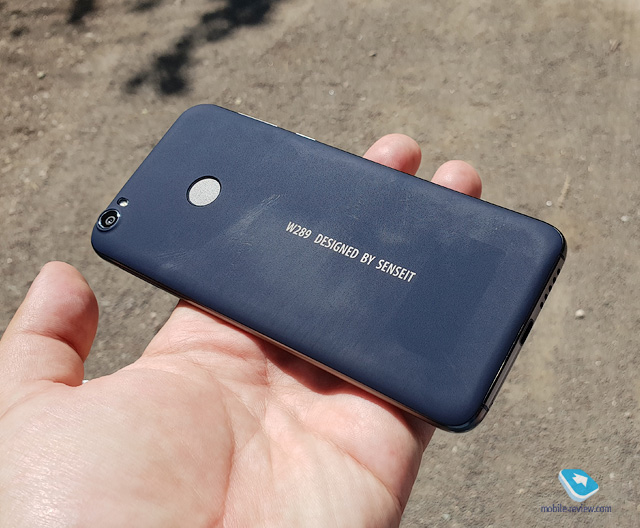Обзор смартфона Senseit W289