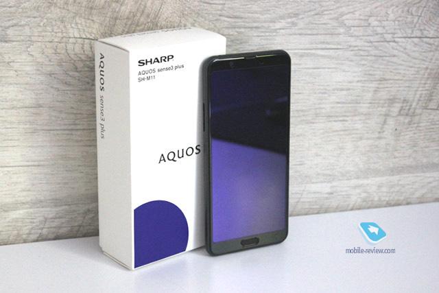 Обзор Sharp AQUOS sense3 plus