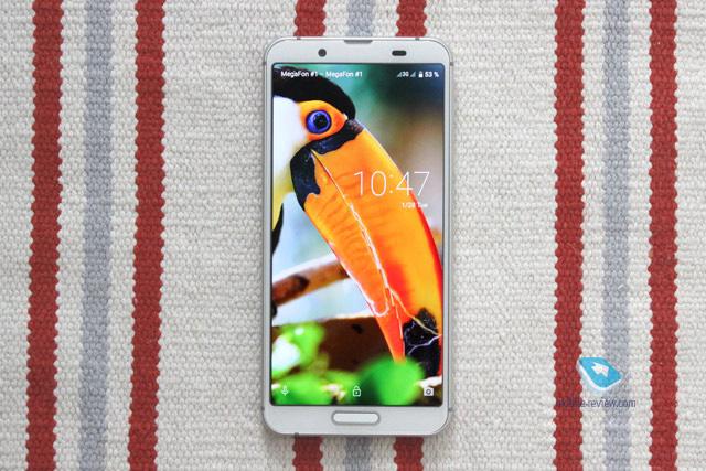 Обзор 2-SIM смартфона SHARP AQUOS sense3