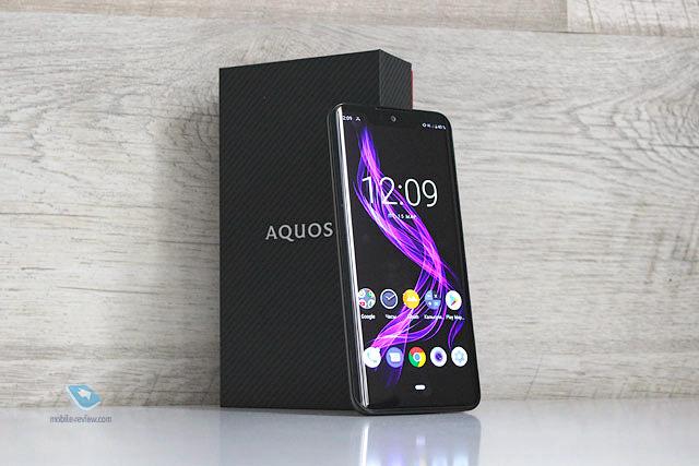 Обзор смартфона Sharp AQUOS Zero