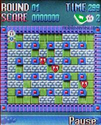download game super bomberman java 320x240