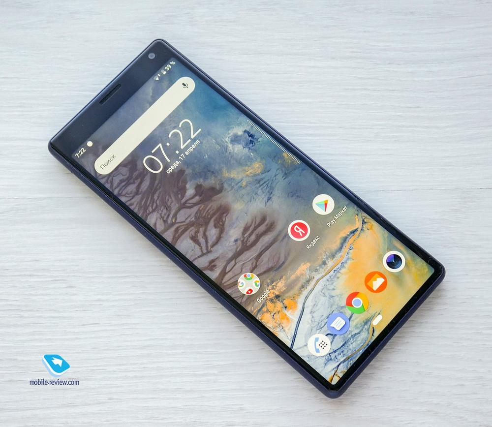 Обзор смартфона Sony Xperia 10