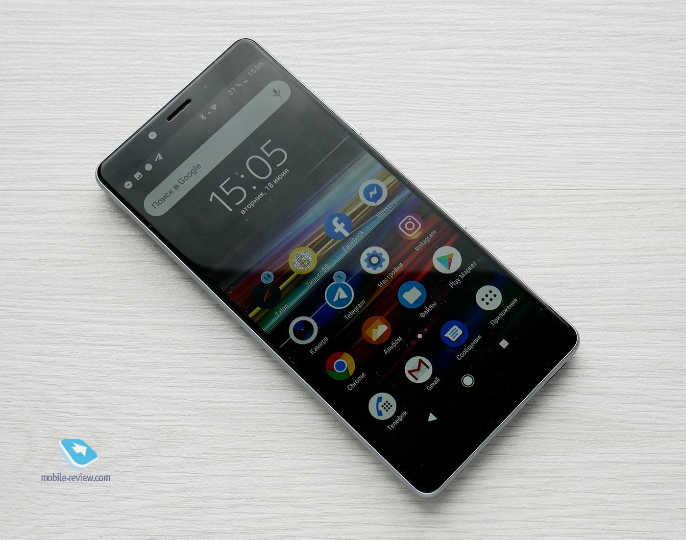 2b4ab3b43daa5 Mobile-review.com Обзор смартфона Sony Xperia L3