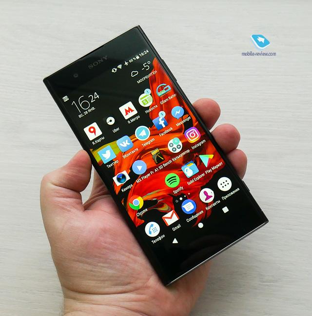 Обзор смартфона Sony Xperia XA1 Plus