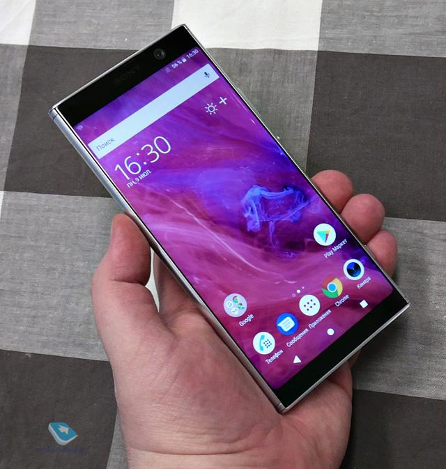 Sony Xperia XA2 Plus. Первый взгляд