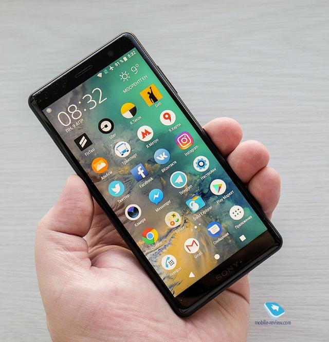 Обзор смартфона Sony Xperia XZ2 Compact