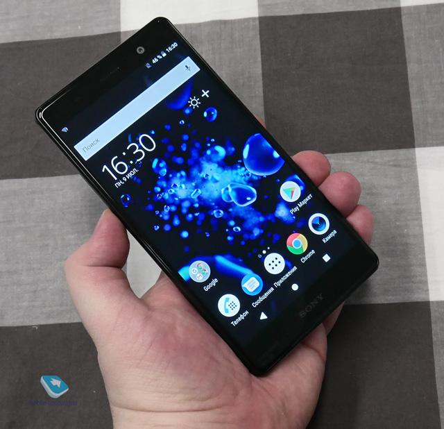 Sony Xperia XZ2 Premium. Первый взгляд