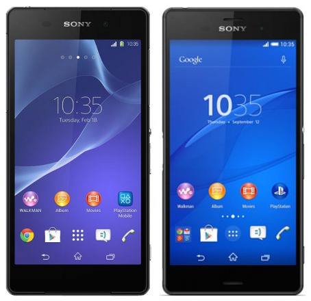 Sony xperia z3 фото в руке