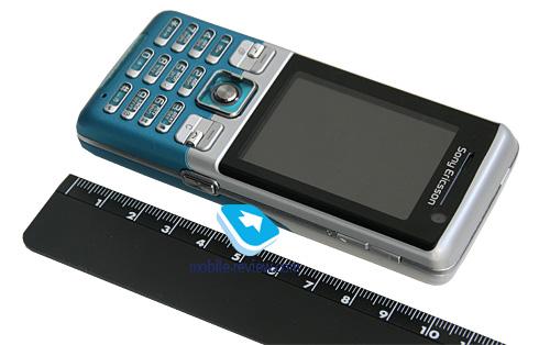 Размер Sony Ericsson C702