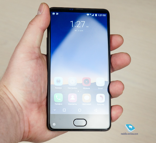 Обзор смартфона UHANS MX