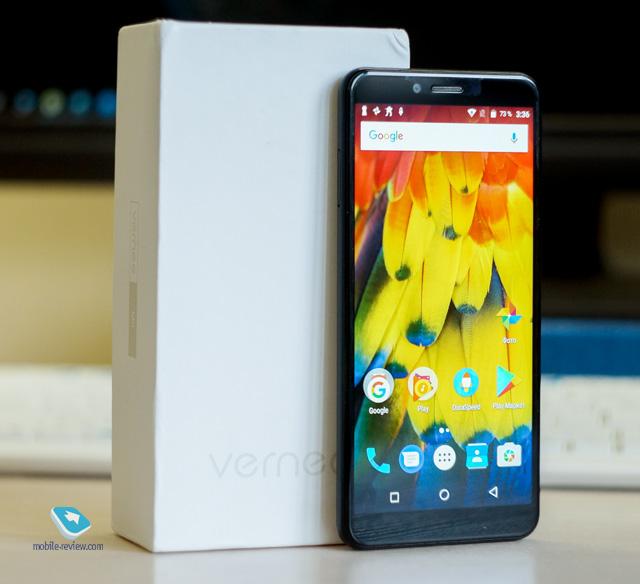 Обзор смартфона Vernee M6