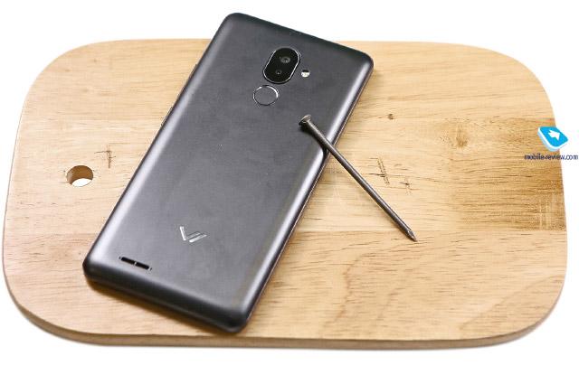 Обзор смартфона с защищенным стеклом Vertex Impress Stone