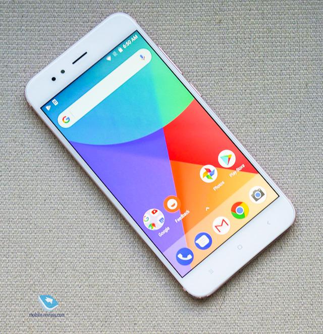 Xiaomi Mi A1. Первый взгляд