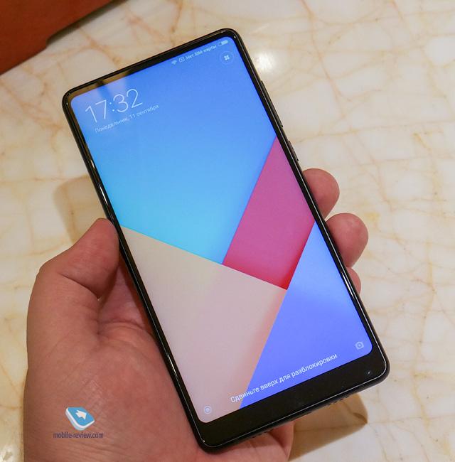 Xiaomi Mi MIX 2. Первый взгляд