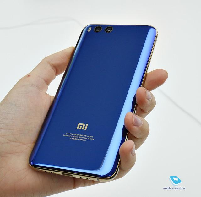 Mobilereview.com Xiaomi Mi6. Первый взгляд