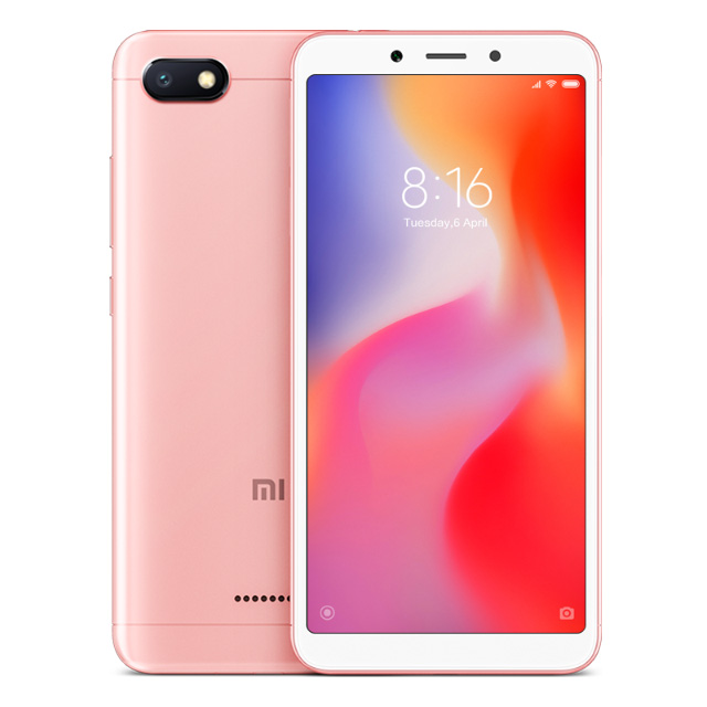 Xiaomi Redmi 6A розовый