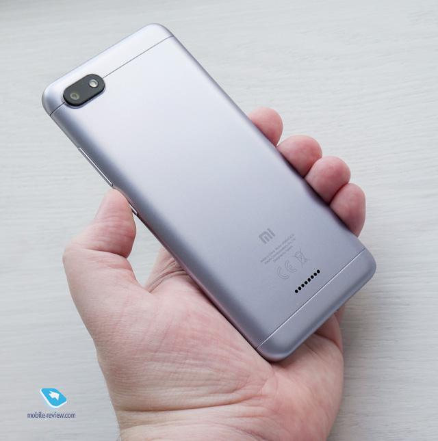 Обзор смартфона Xiaomi Redmi 6A