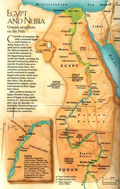 kingdoms of egypt and nubia essay The similarities and differences between nubia/kush and lower egypt (culturally, technologically, and politically) finally, this presentation should discuss the conquering of lower egypt, why it occurred, and how life changed for both kingdoms after this conquering.