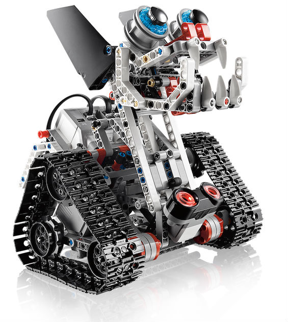 LEGO has introduced a new generation of educational robots ...
