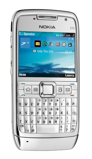 Nokia E71 - официально обьявлена!
