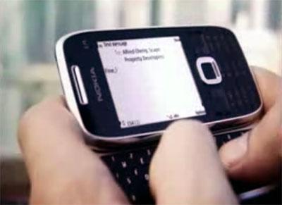 Видео с новинками Nokia в Eseries