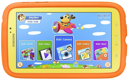 Samsung анонсировала планшет для детей Galaxy Tab 3 Kids.