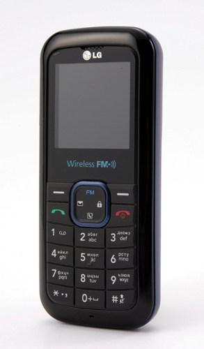 Новый телефон LG GB109: неплохая функциональность по доступной цене