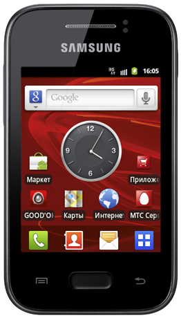 Samsung Galaxy Ace.  Приобретая смартфон.  Samsung Wave 3 Black. или.