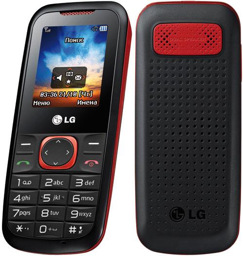рынке телефон LG A120 в классическом форм-факторе