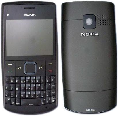Nokia X2-01: новый QWERTY телефон на S40